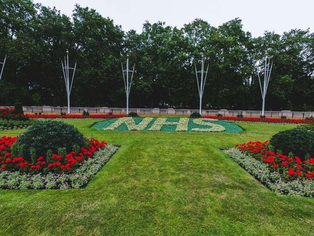 NHS garden